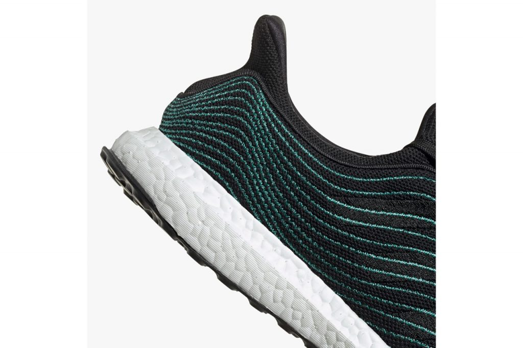 Adidas Ultra Boost DNA Parley Core Black Sole View