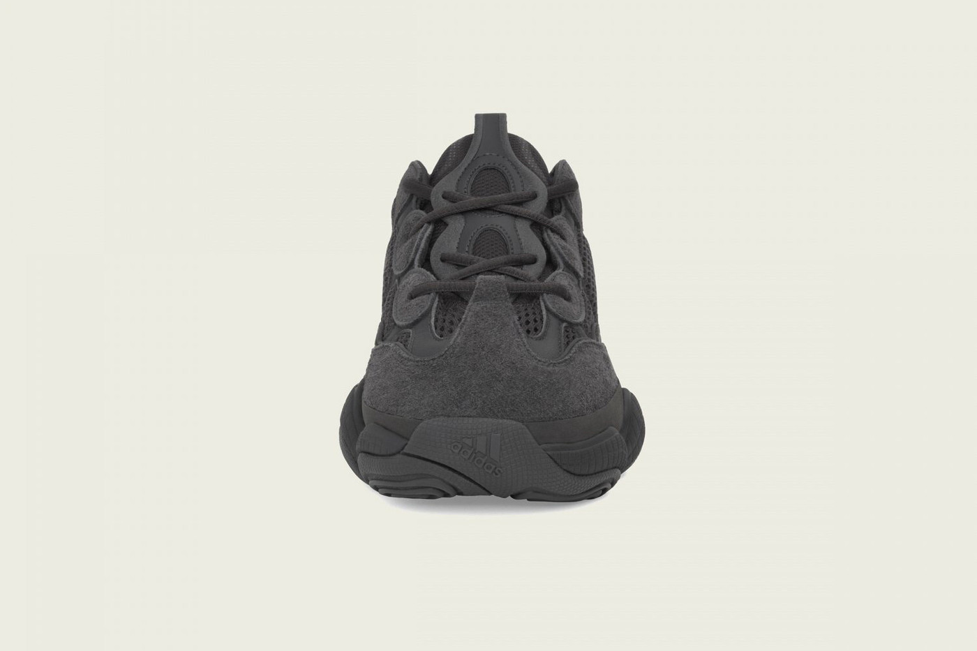 Adidas-Yeezy-500-Utility-Black-Front-View
