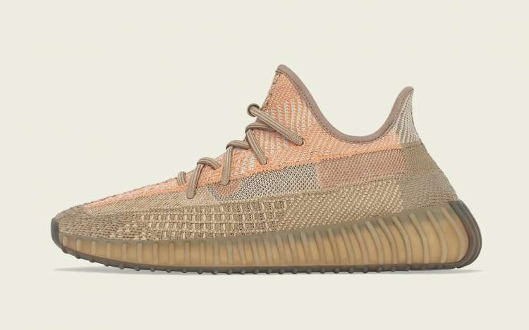 Adidas-Yeezy-Boost-350-V2-Sand-Taupe-Left-Side-View
