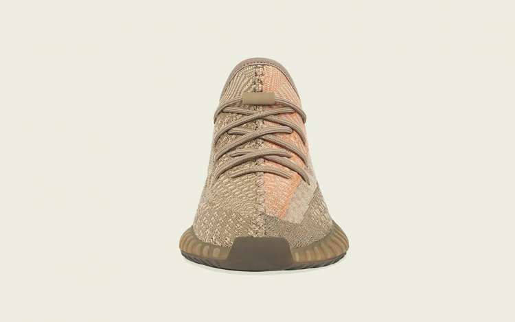 Adidas-Yeezy-Boost-350-V2-Sand-Taupe-Front-View