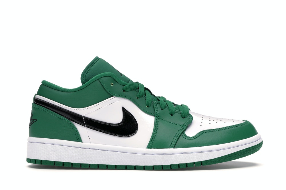 Air-Jordan-1-Low-Pine-Green-Side-View