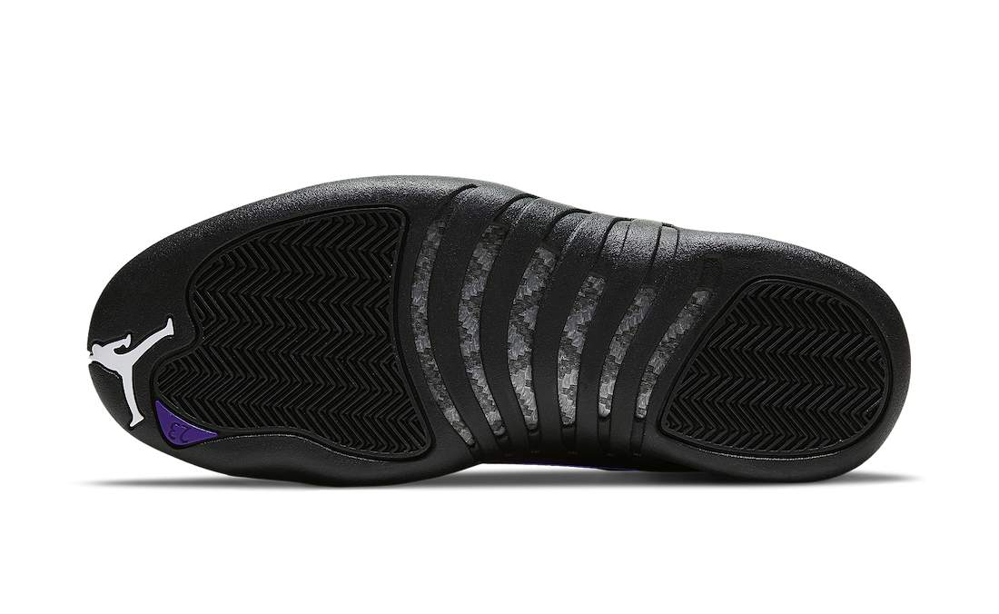 Air-Jordan-12-Retro-Dark-Concord-Sole-View