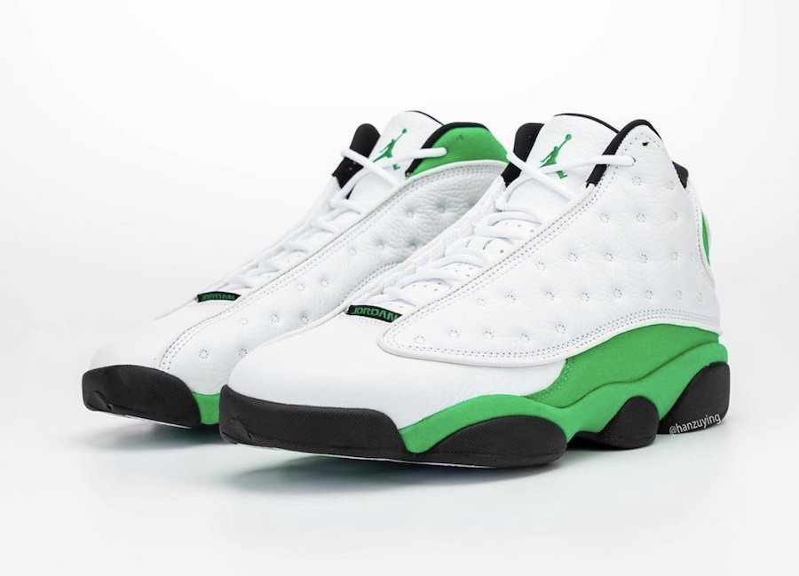 Air-Jordan-13-Lucky-Green-Full-View