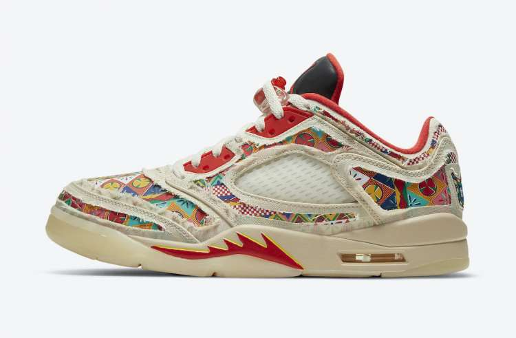 Air-Jordan-5-Low-Chinese-New-Year-Wear-Away