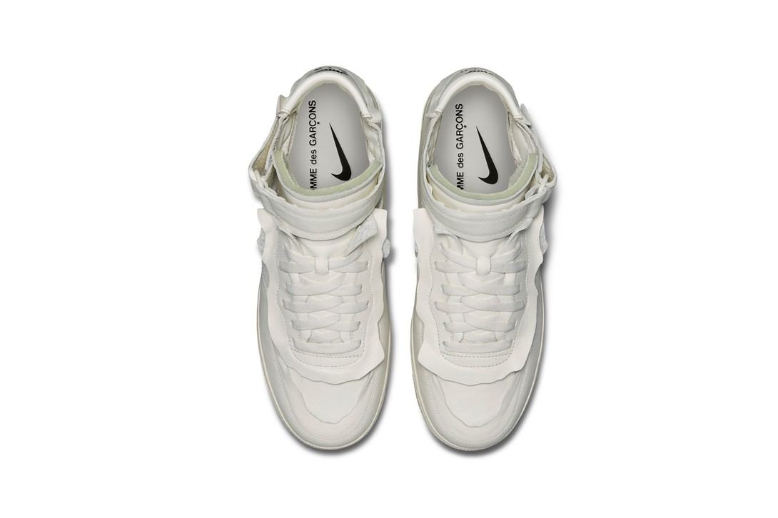 Comme-Des-Garcons-Nike-Air-Force-1-Mid-White-Hover-View