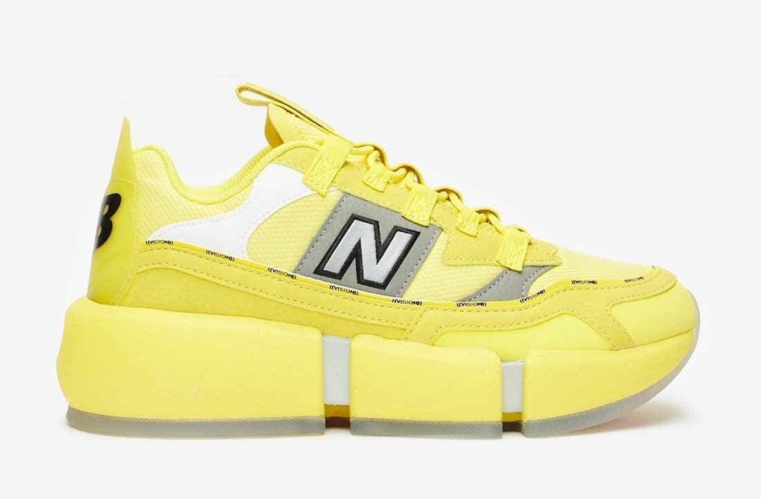 Jaden-Smith-New-Balance-Vision-Racer-Sunflower-Yellow-Side-View