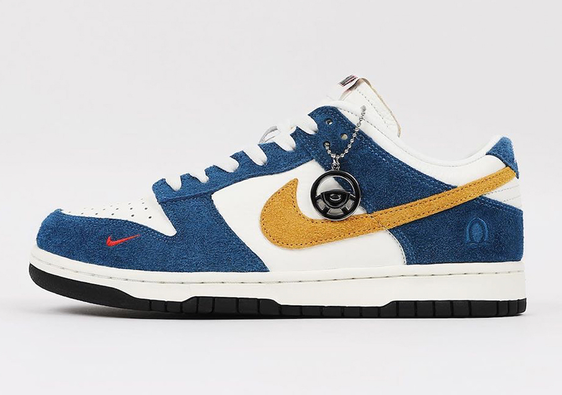 Kasina-Nike-Dunk-Low-Industrial-Blue-Side-View-Left