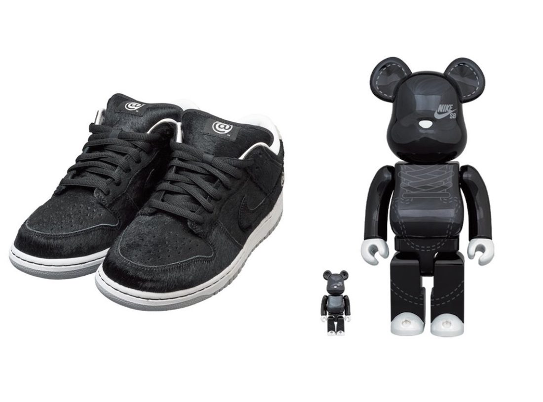 Medicom-Toy-Nike-SB-Dunk-Low-Be@rbrick-and-Toy