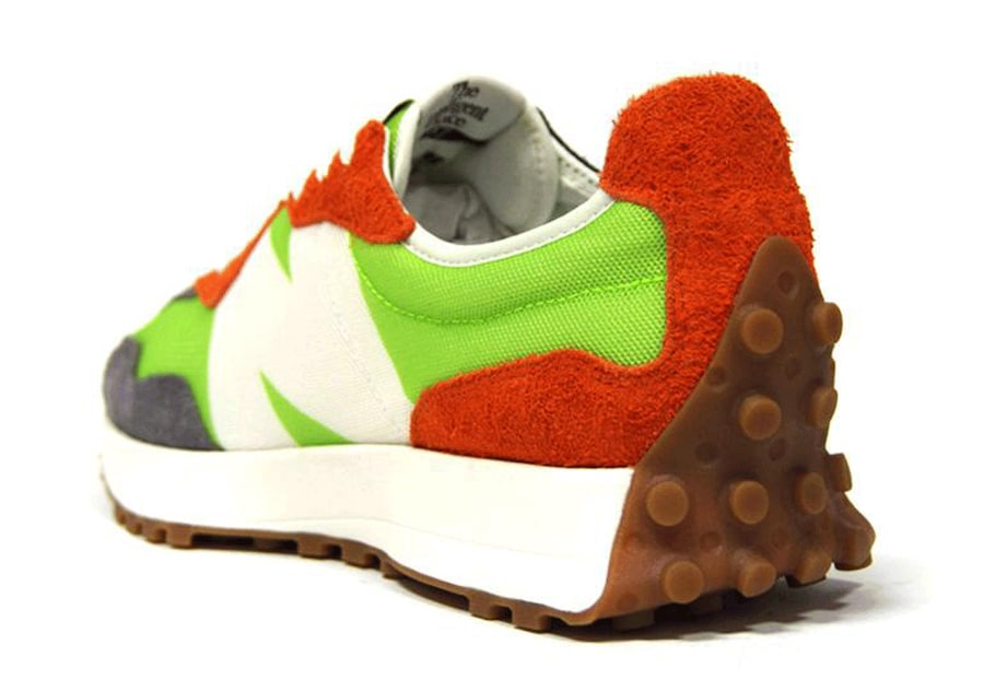 New-Balance-327-Lime-Green-Rear-View