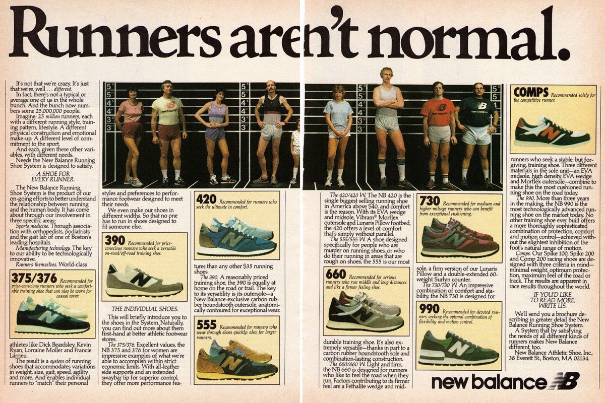 New Balance in the news paper