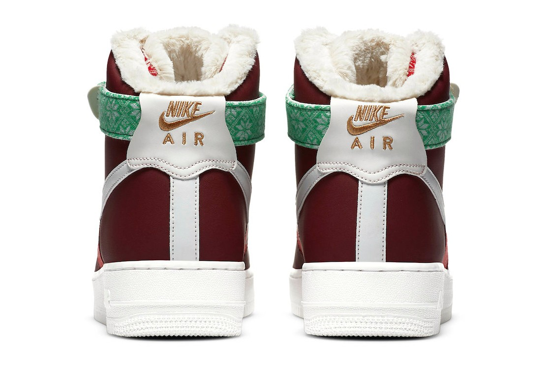 Nike-Air-Force-1-High-Christmas-Sweater-Rear-View
