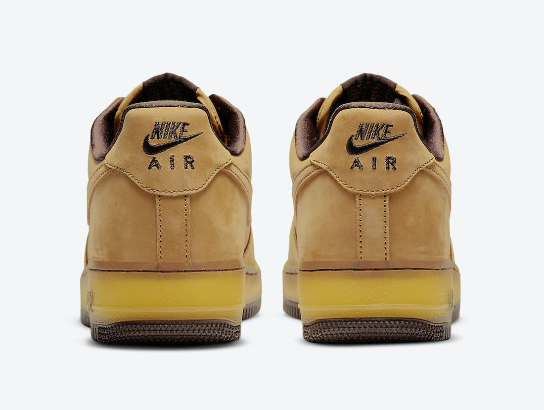 Nike-Air-Force-1-Low-Wheat-Mocha-Rear-View