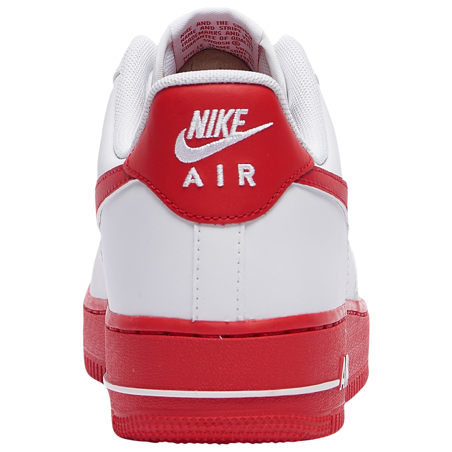 Nike-Air-Force-1-Low-University-Red-Rear-View