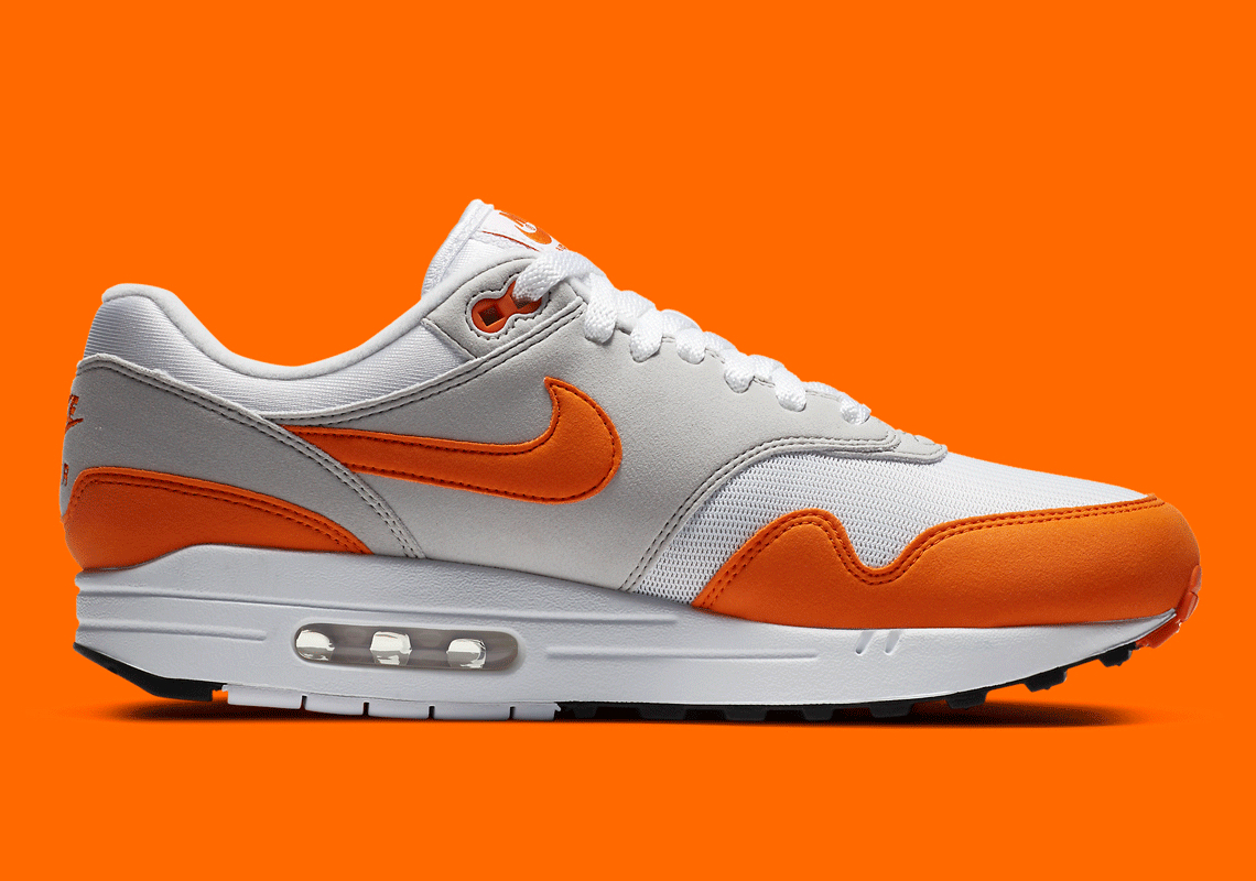 Nike Air Max 1 Anniversary Orange And Hunter Green Release Date