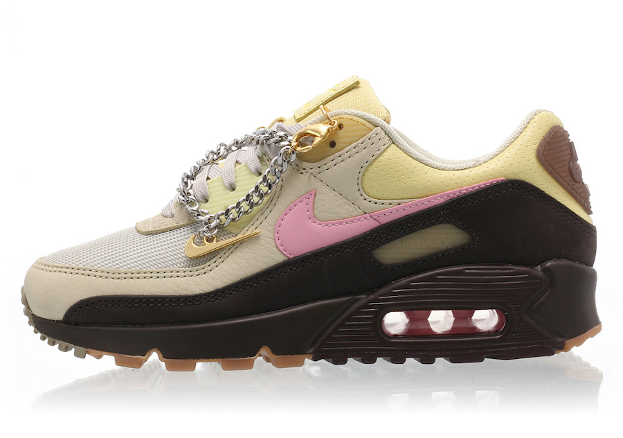Nike Air Max 90 Cuban link side view