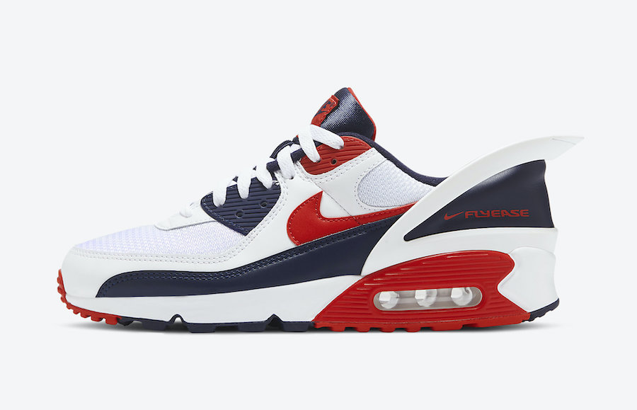 Nike Air Max 90 Flyease USA side view