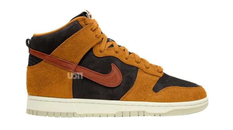 Nike-Dunk-High-PRM-Dark-Russet-Side-View