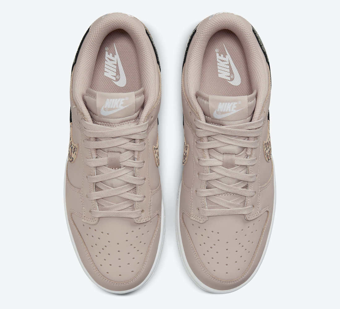 Nike Dunk Low Animal Pack Dusty Pink Hover View