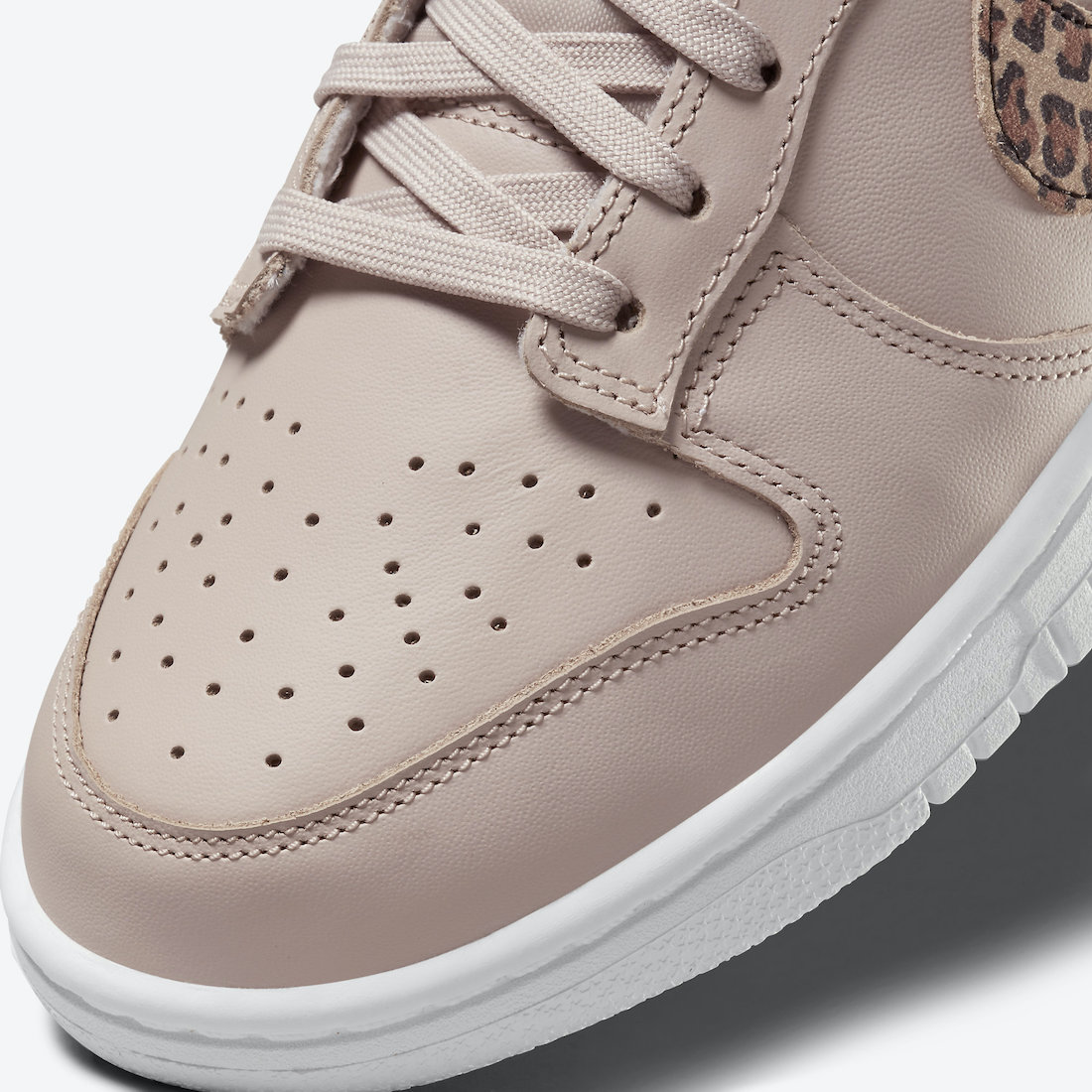 Nike Dunk Low Animal Pack Dusty Pink Closer Look