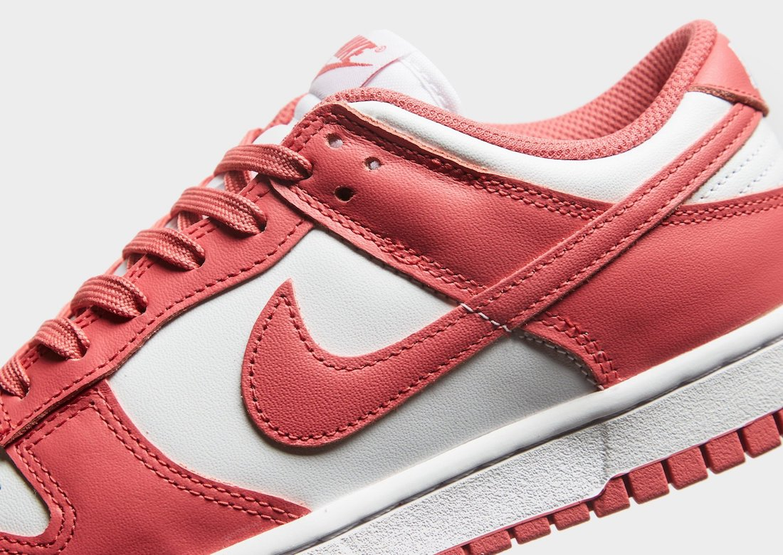 Nike Dunk Low Archeo Pink Close Up