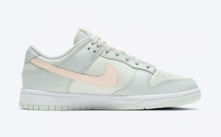 Nike-Dunk-Low-Barely-Green-Side-View