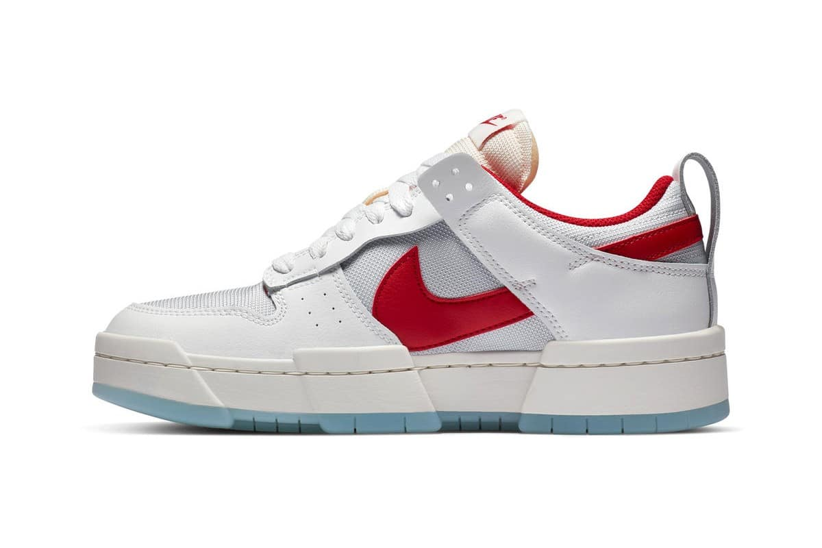 Nike-Dunk-Low-Disrupt-Gym-Red-Side-View