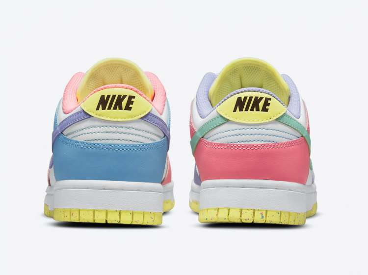 Nike-Dunk-Low-Easter-Rear-View