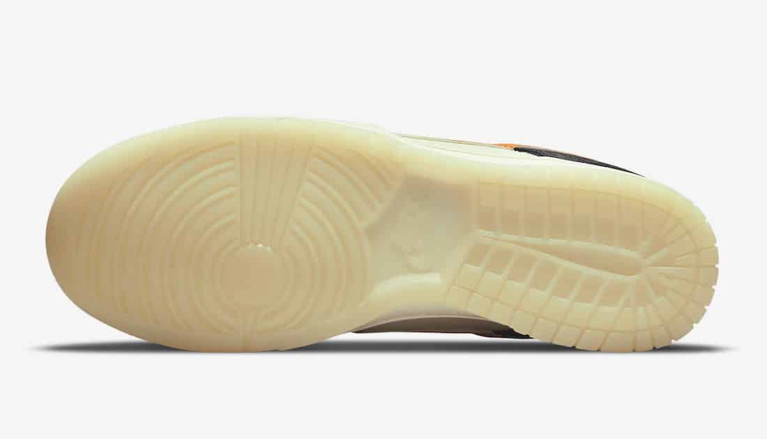 Nike Dunk Low Halloween 2021 Outsole