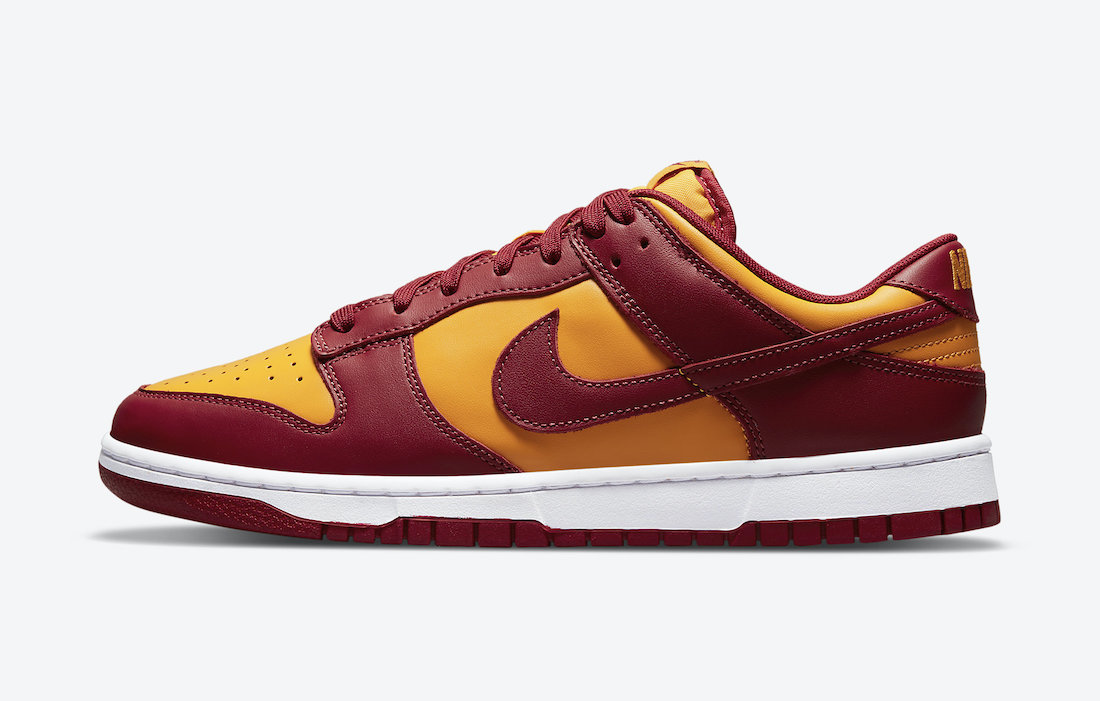 Nike Dunk Low Midas Gold Side View