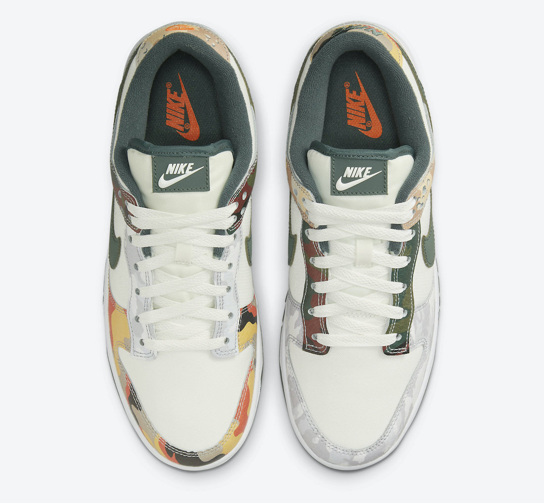 Nike Dunk Low SE Multi Camo Hover View