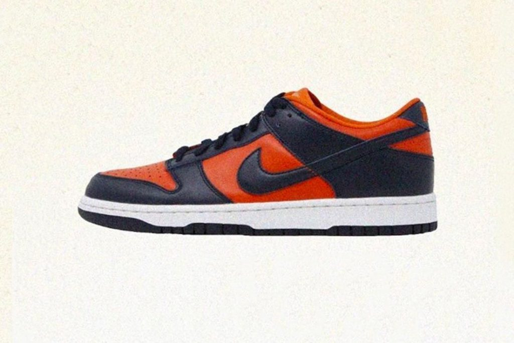 Nike Dunk Low SP Champ Colors side view