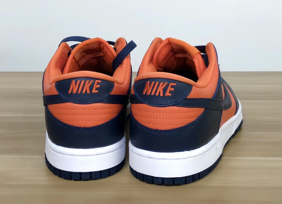 Nike Dunk Low SP Champ Colors Rear View