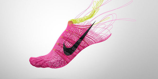 Nike FlyKit technology