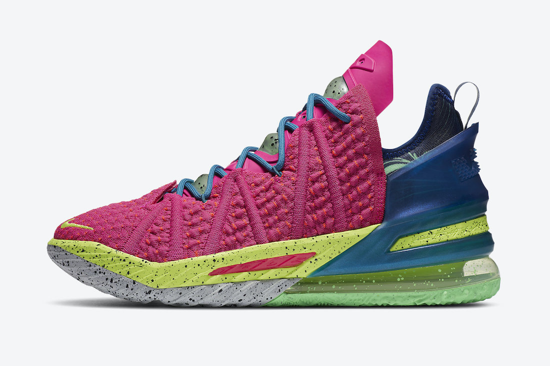 Nike-LeBron-18-Los-Angeles-By-Night-Side-View
