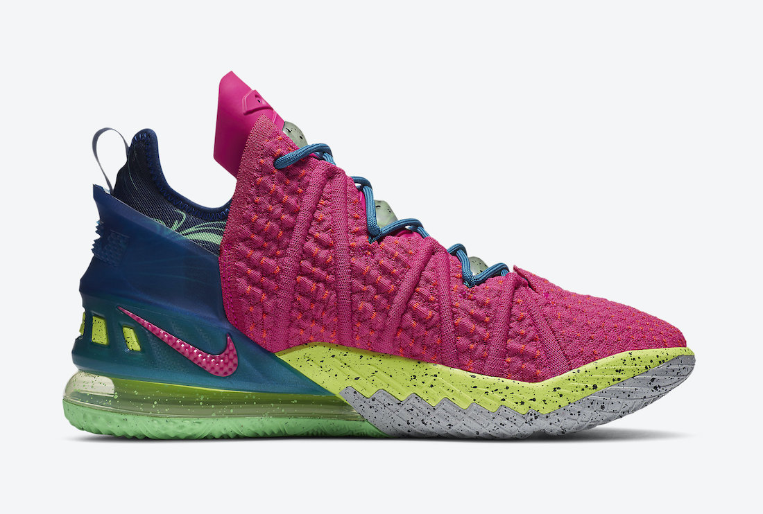 Nike-LeBron-18-Los-Angeles-By-Night-Lateral-View