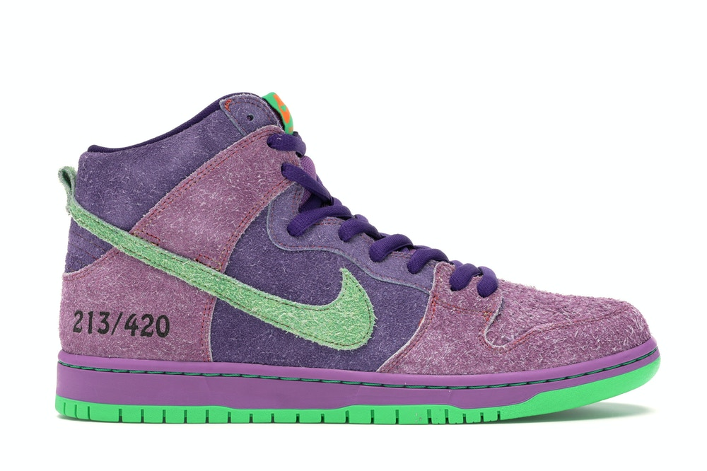 Nike-SB-Dunk-High-420-Reverse-Skunk-Side-View