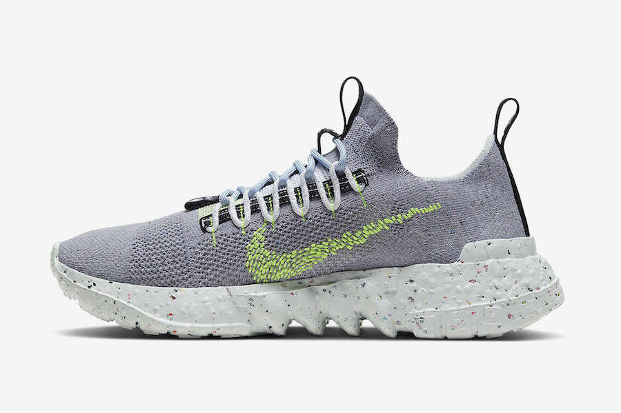 Nike-Space-Hippie-Grey-Volt-Side-View