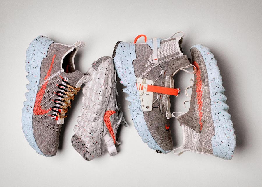 Nike all 4 of the space hippie collection