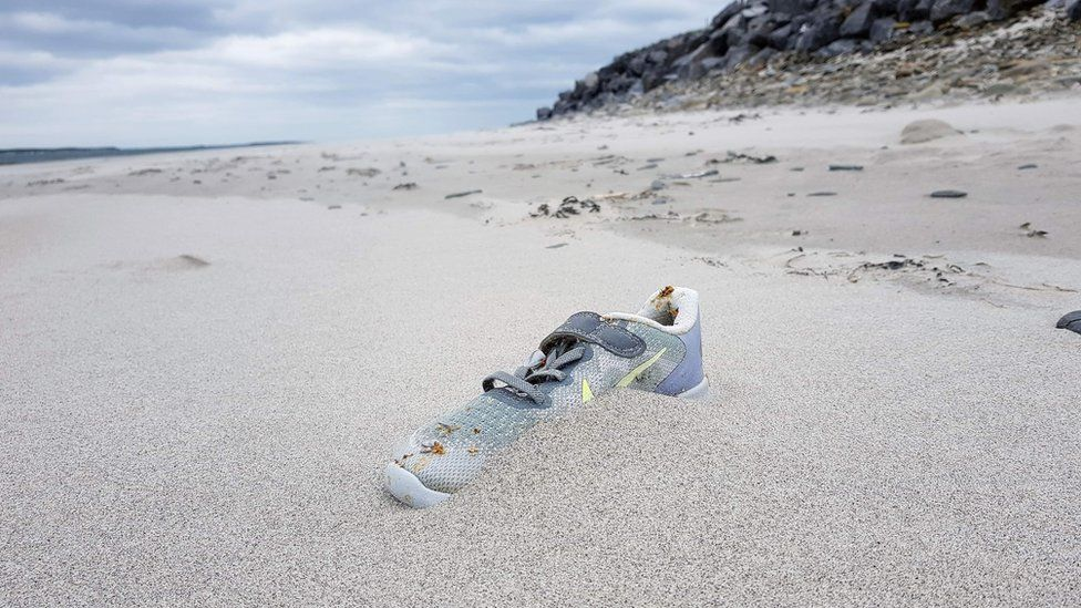 Nike-Trainers-Washing-Up-Ashore