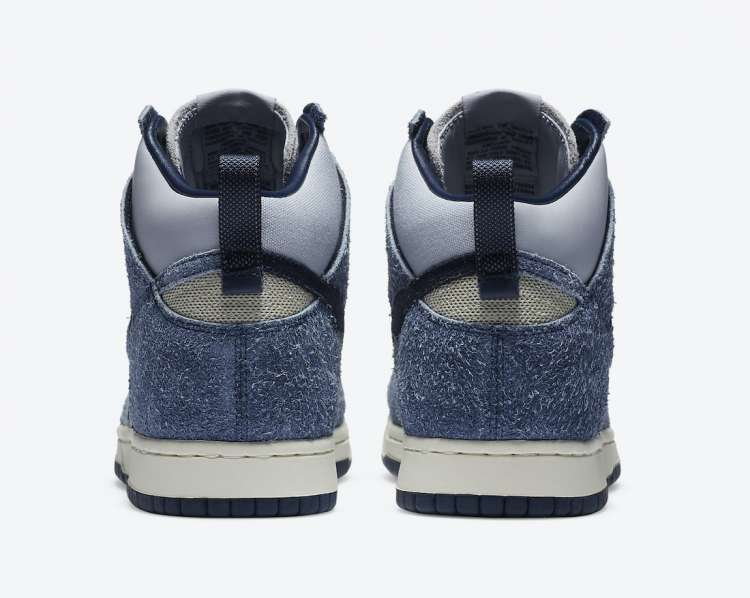 Notre-x-Nike-Dunk-High-Midnight-Navy-Rear-View