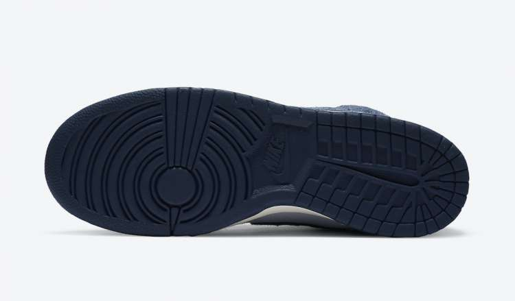 Notre-x-Nike-Dunk-High-Midnight-Navy-Outsole