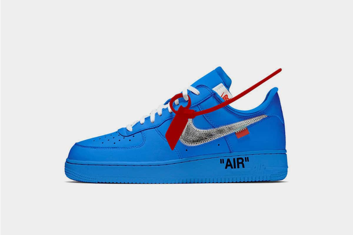 How To Buy The Blue Off White Air Force 1 Museum Of Contemporary Art Mca In June 2019 Six Figure Sneakerhead
