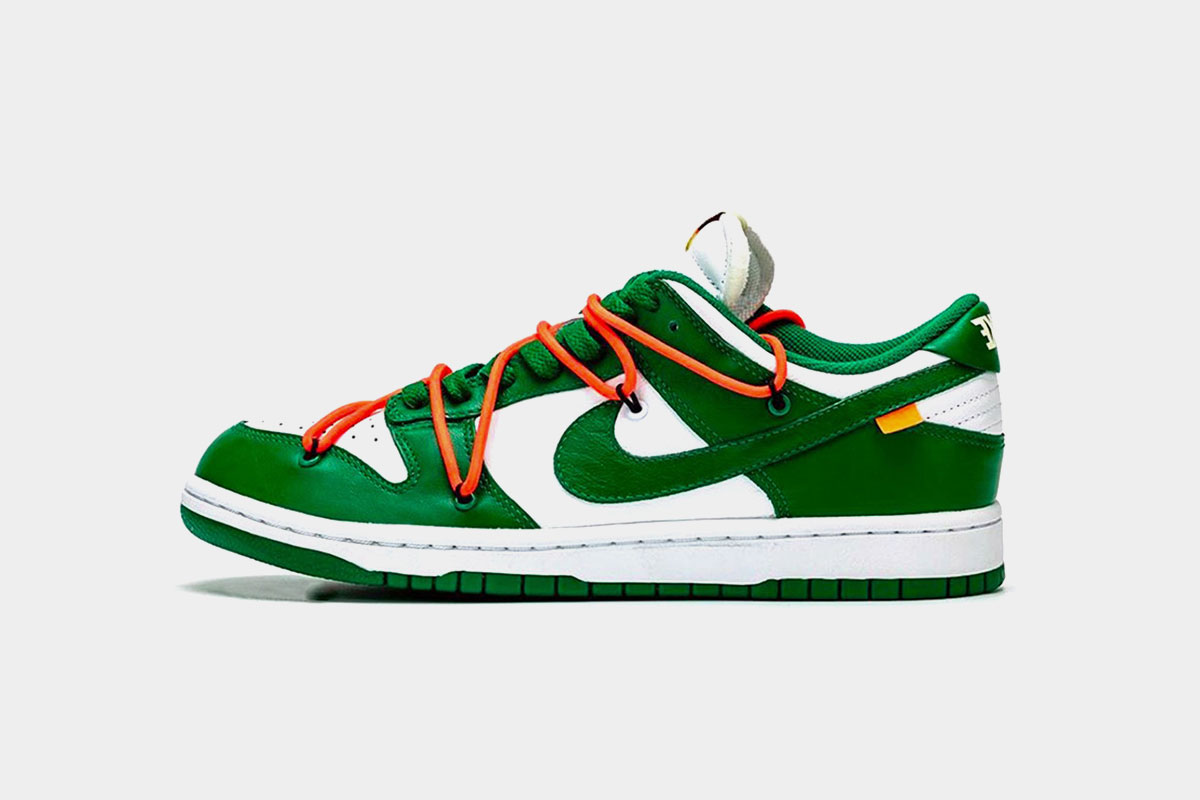 Off White x Nike Dunk Low Release and