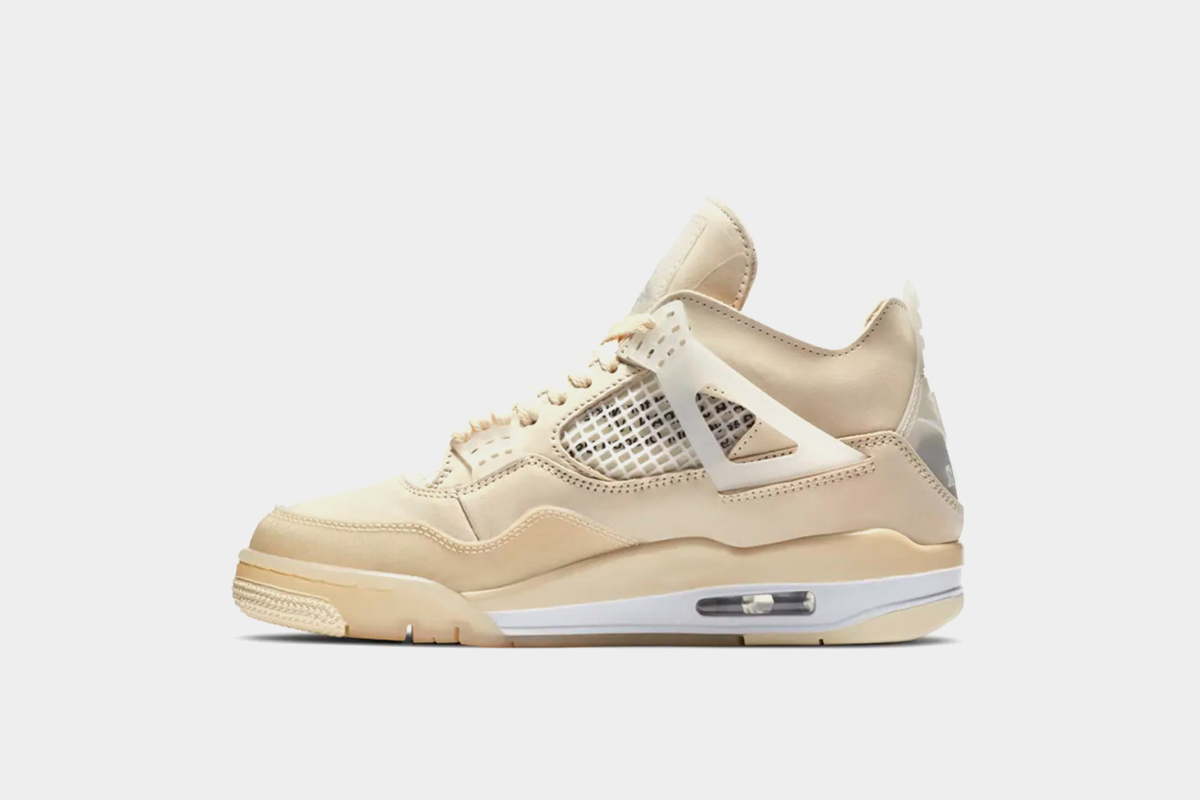 Off-White Air Jordan 4 Sail Resale Value and Release Date