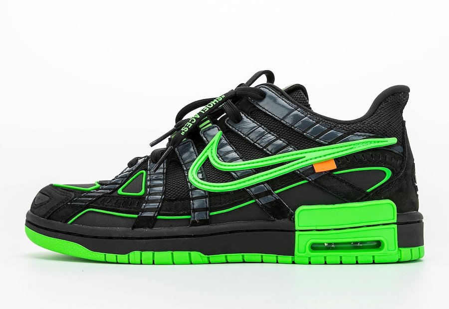 Nike-Off-White-Rubber-Green-Green-Strike-Side-View