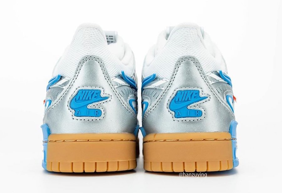 Nike-Off-White-Rubber-Dunk-University-Blue-Rear-View
