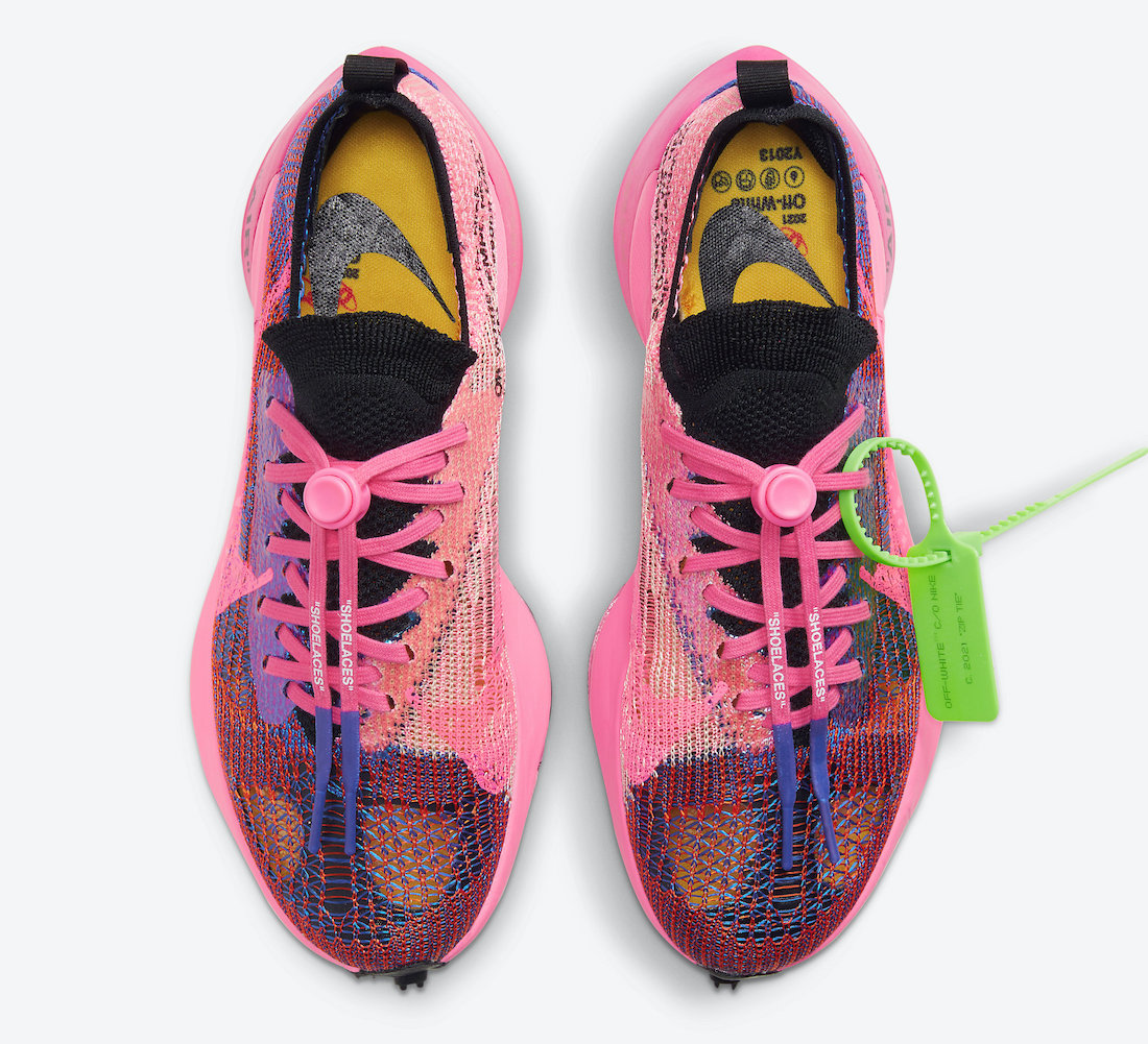 Off-White x Nike Air Zoom Tempo Pink Glow Hover View