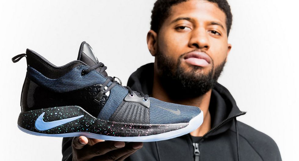 Paul George and Nike collaboration