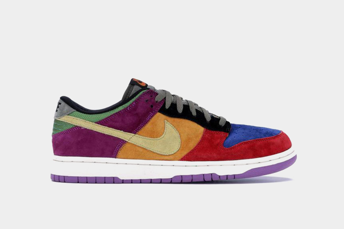 low top nike dunks released in 2002