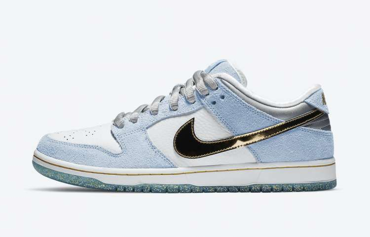 Sean-Cliver-Nike-SB-Dunk-Low-Holiday-Special-Side-View
